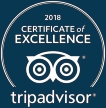 tripadvisor certificate of excellence icon