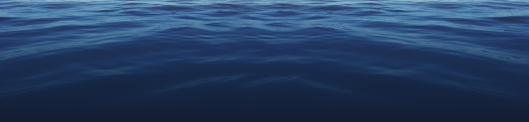 Calm dark blue water