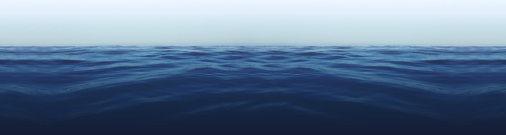 calm deep blue water